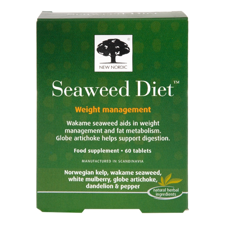 New Nordic Seaweed Diet Weight Management Tablets