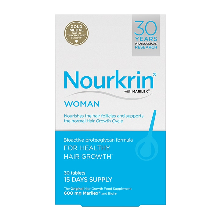 Nourkrin Woman Hair Nutrition 15 Days Supply 30 Tablets
