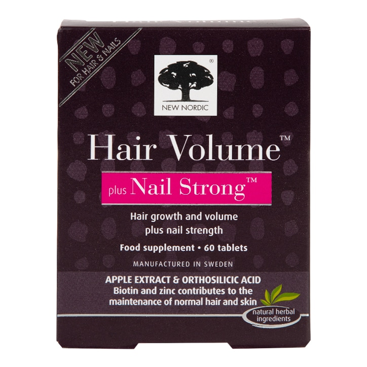 New Nordic Hair Volume with Nail Strong Tablets