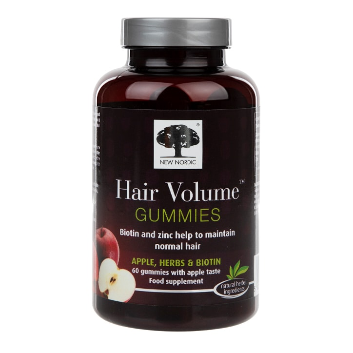New Nordic Hair Volume Supplement 60 Gummies