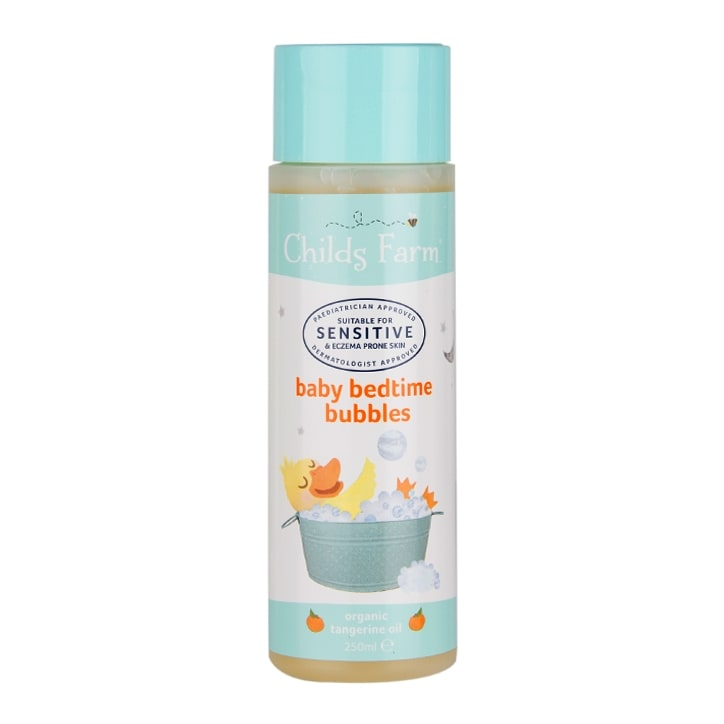 Childs Farm  Organic Tangerine Baby Bedtime Bubbles 250ml