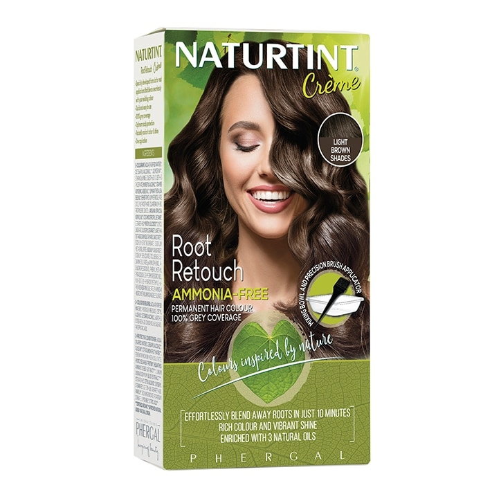 Naturtint Root Retouch Crème - Light Brown