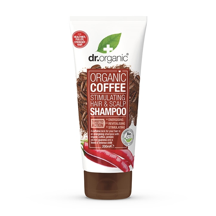 Dr Organic Coffee Hair Stimulating Shampoo