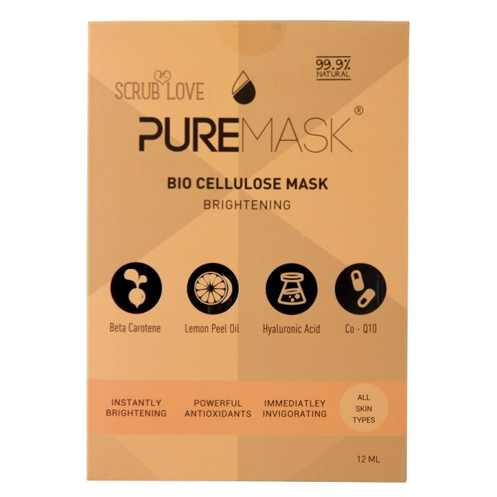 Scrub Love Puremask Brightening Bio Cellulose Mask