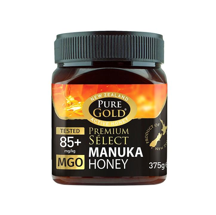 Pure Gold Premium Select Manuka Honey MGO 85 375g