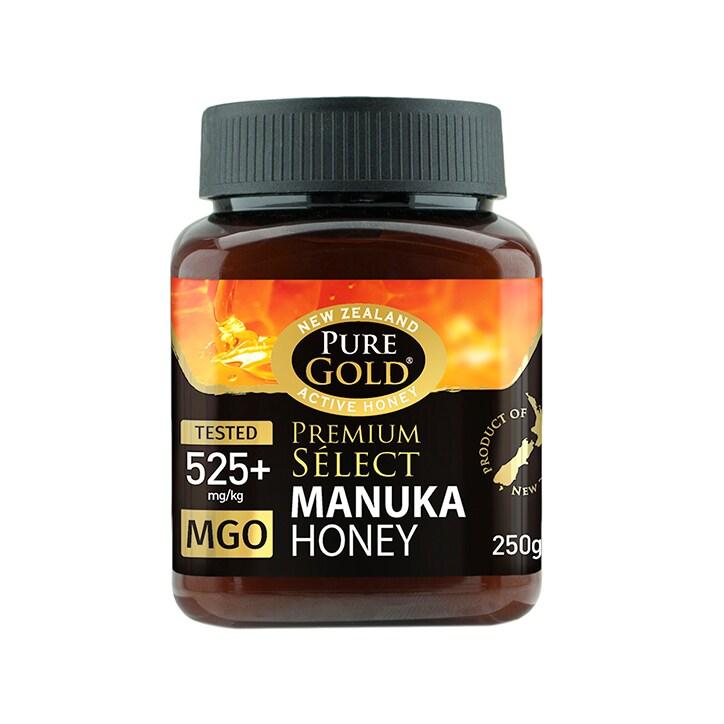 Pure Gold Premium Select Manuka Honey MGO 525 250g