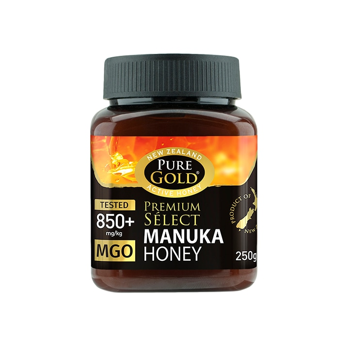 Pure Gold Premium Select Manuka Honey MGO 850 250g