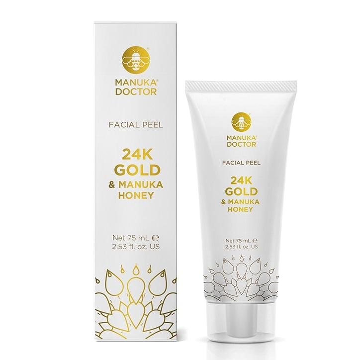 Manuka Doctor 24K & Manuka Honey Gold Face Peel