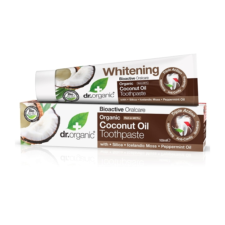 Dr Organic Coconut Oil Toothpaste 100ml