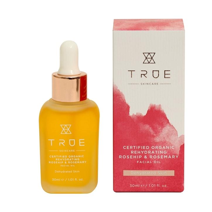 True Skincare Organic Rehydrating Rosehip & Rosemary Facial Oil