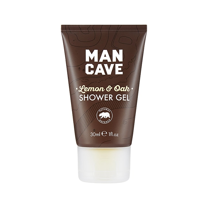 Mancave Lemon & Oak Shower Gel Travel Size 30ml