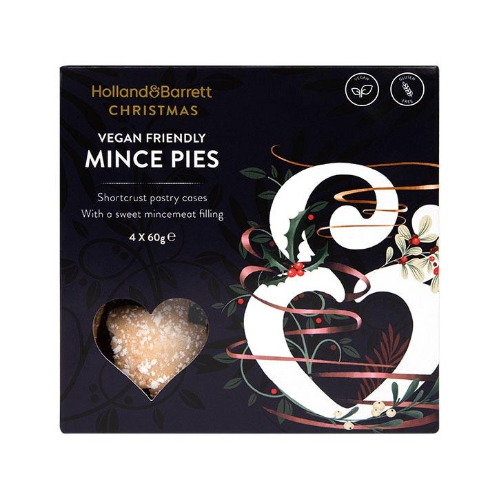 Holland & Barrett Vegan & Gluten Free Mince Pies 4 Pack