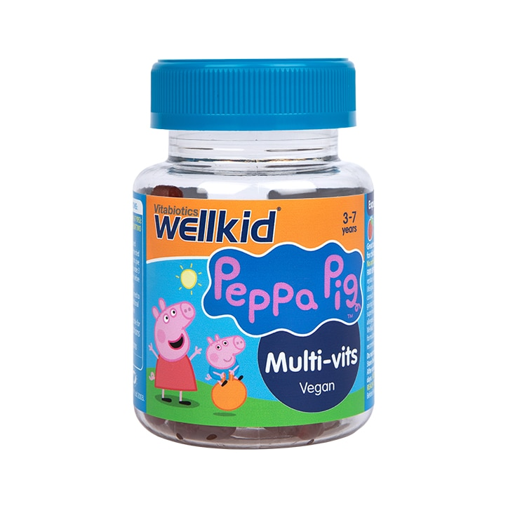Vitabiotics Wellkid Peppa Pig Multi-Vitamin Strawberry Flavour 30 Jellies