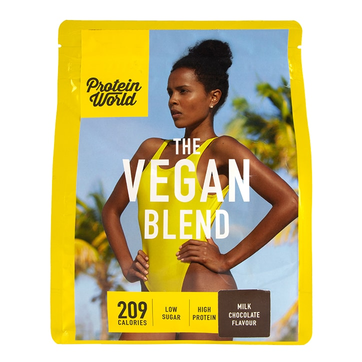 Protein World The Vegan Blend Chocolate Flavour 600g