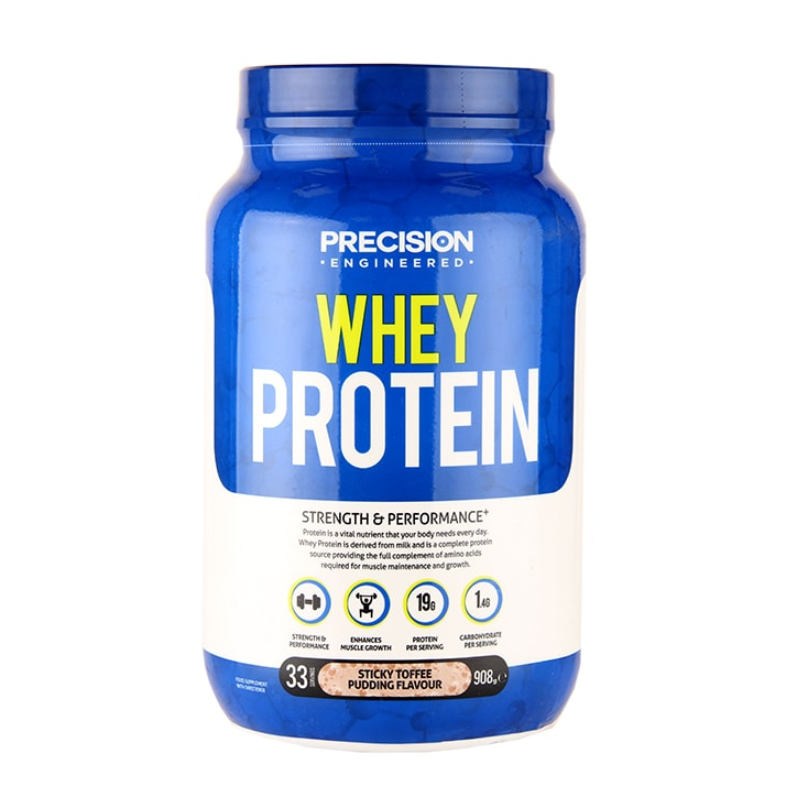 Precision Engineered Whey Protein Sticky Toffee