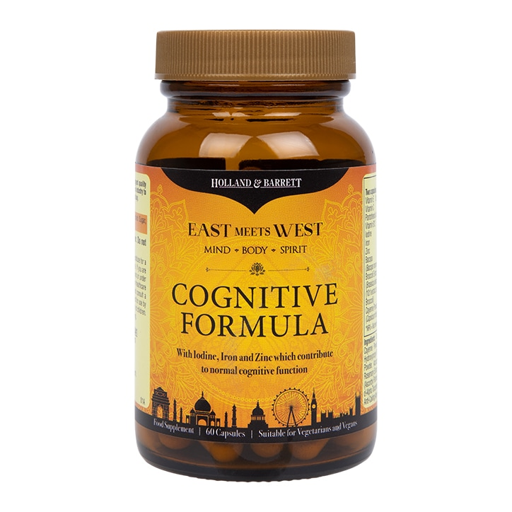 East Meets West Cognitive Formula 60 Capsules