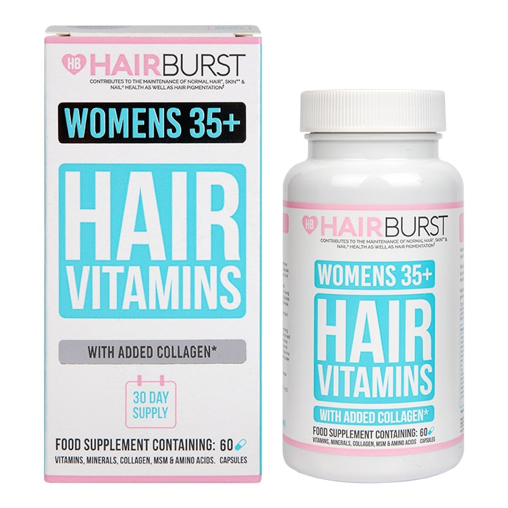 Hairburst Hair Vitamins for Women 35+ Capsules 1 Month Supply