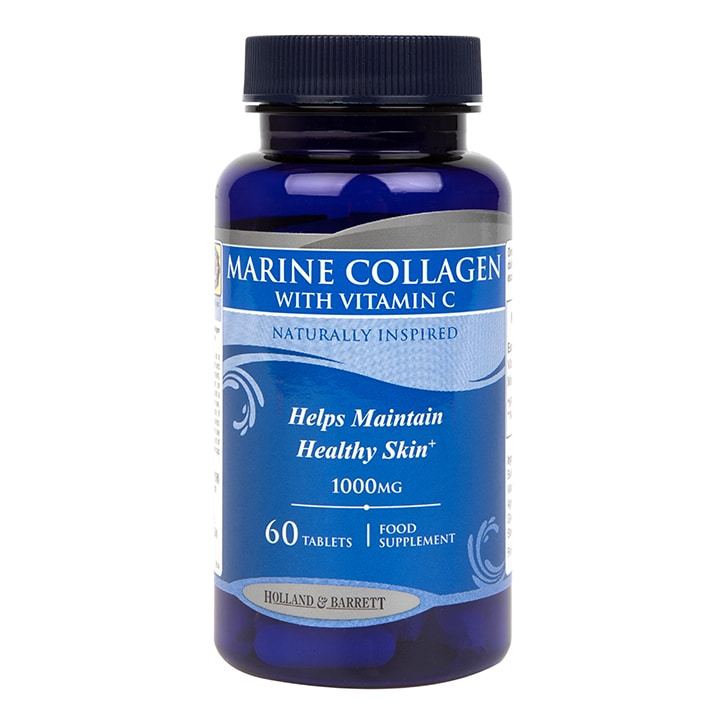 Holland & Barrett Marine Collagen with Vitamin C Tablets