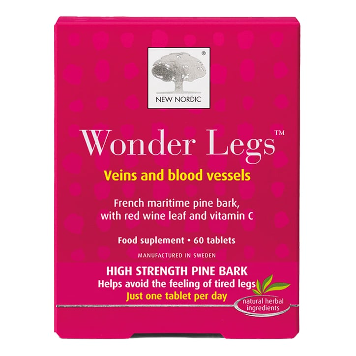 New Nordic Wonder Legs Veins & Blood Vessels Tablets