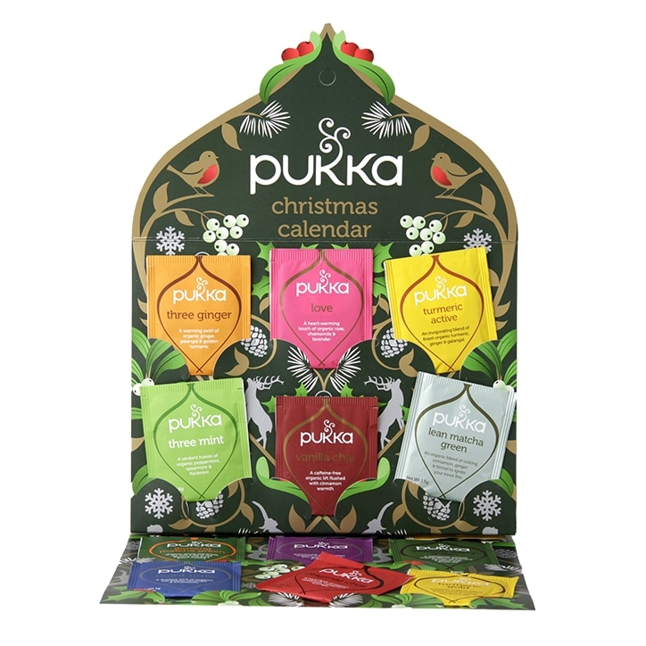Pukka Tea 24 Day Advent Calendar Holland Barrett Ireland S