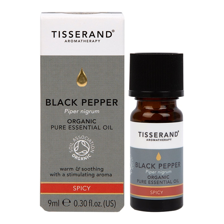 Tisserand Organic Black Pepper Essential Oil 9ml