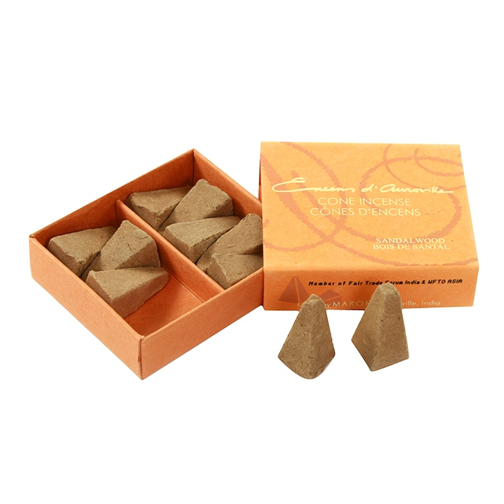 Maroma Sandalwood Incense Cones