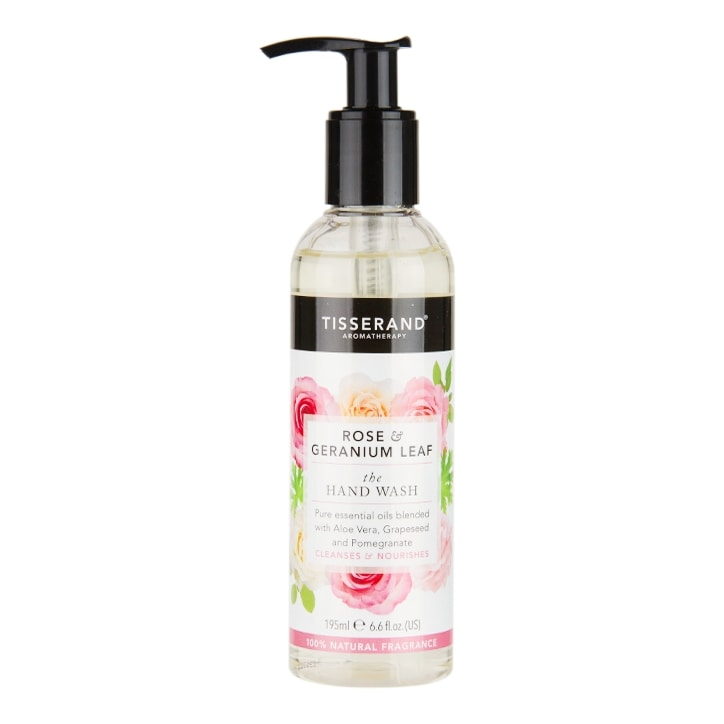Tisserand The Hand Wash Rose & Geranium Leaf