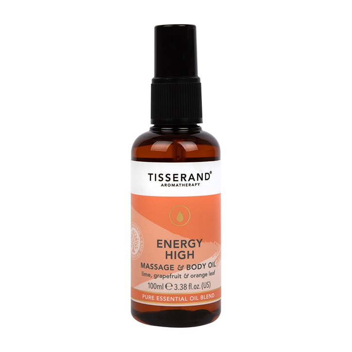 Tisserand Energy High Massage & Body Oil 100ml