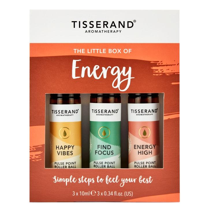 Tisserand Little Box Of Energy Rollerball Kit 3x10ml