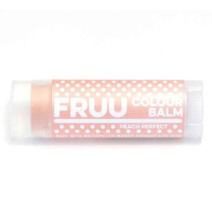 Fruu Peach Perfect Colour Lip Balm
