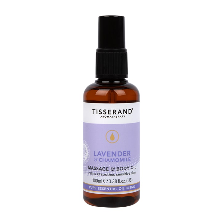 Tisserand Lavender & Chamomile Massage & Body Oil 100ml