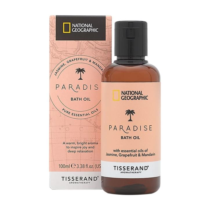 Tisserand National Geographic Paradise Bath Oil 100ml