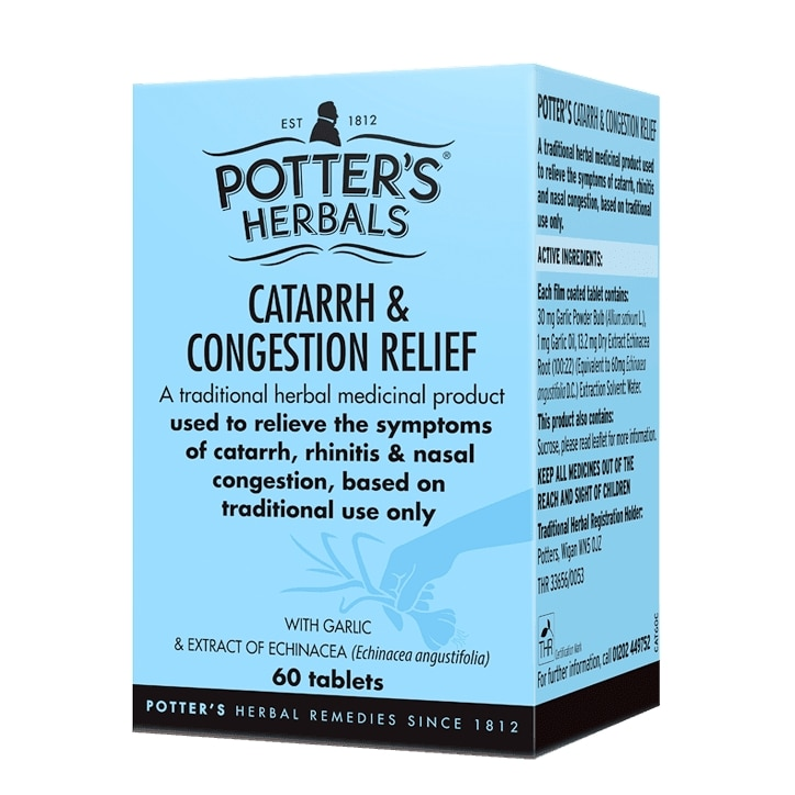 Potters Catarrh & Congestion Relief Tablets