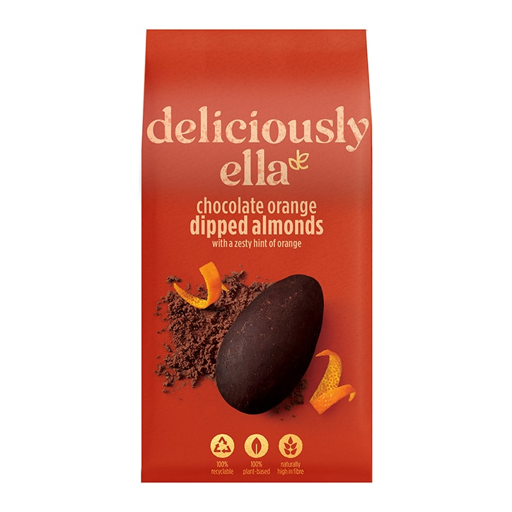 Deliciously Ella Chocolate Orange Dipped Almonds 90g