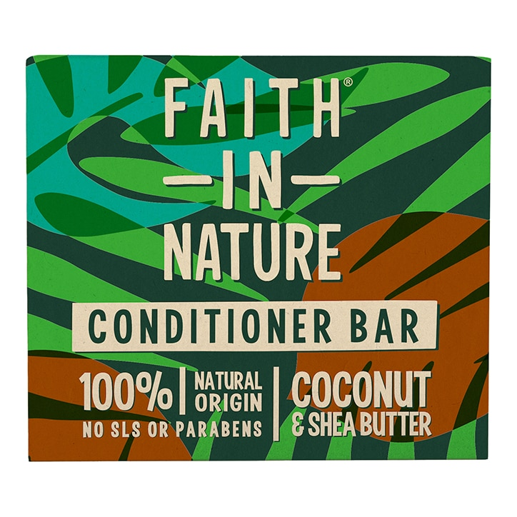 Faith in Nature Coconut & Shea Butter Conditioner Bar 85g