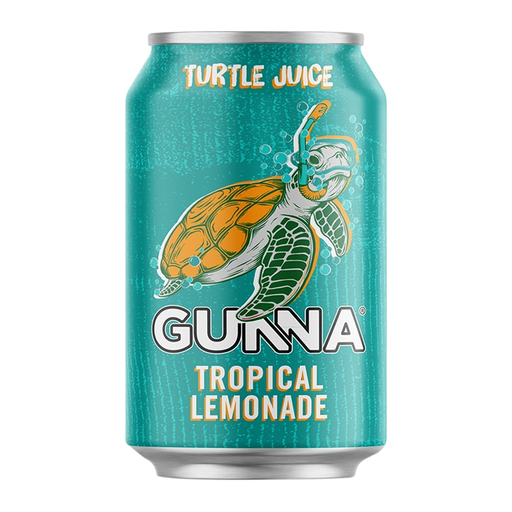 Gunna Turtle Juice Tropical Lemonade 330ml