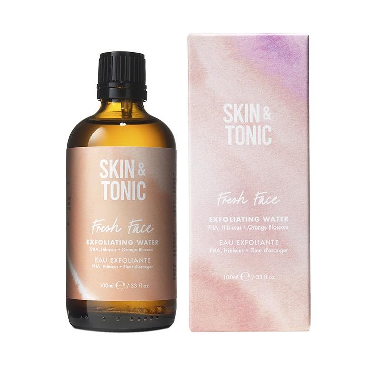 Skin & Tonic Fresh Face Exfoliating Water 100ml