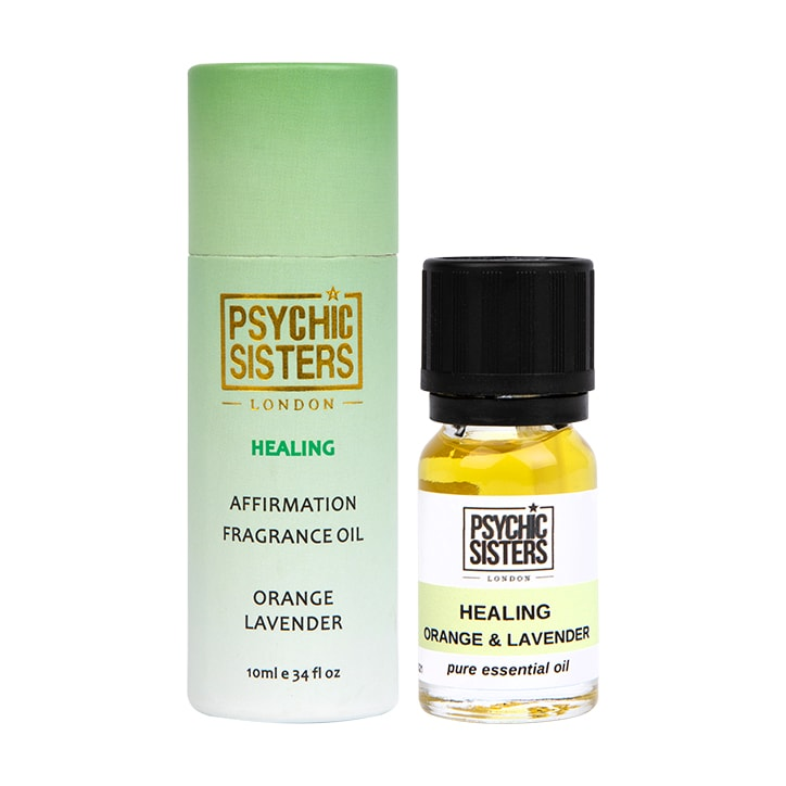 Psychic Sisters Healing Fragrance Oil 10ml