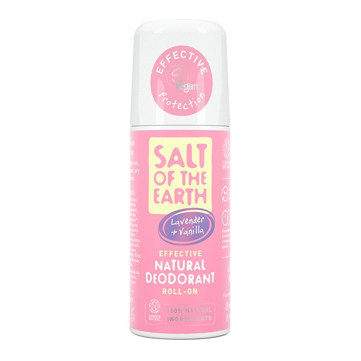 Salt of the Earth Peppermint & Tea Tree Natural Foot Deodorant Spray 100ml