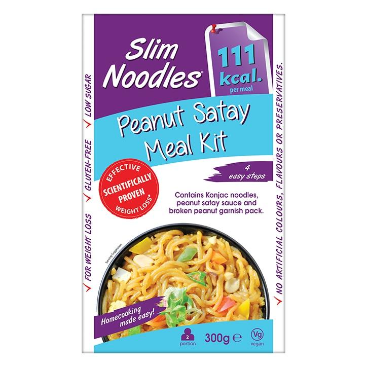 Slim Noodles Peanut Satay Meal Kit 300g