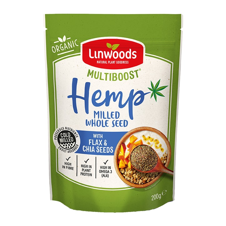 Linwoods Multiboost Organic Milled Hemp Seed with Flax & Chia 200g