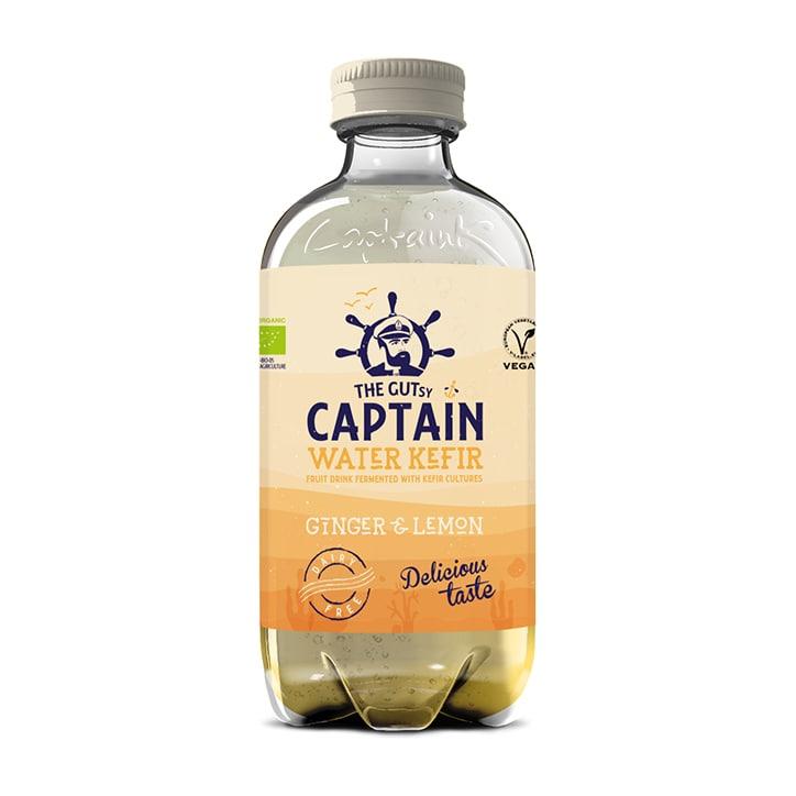 The GUTsy Captain Water Kefir Ginger Lemon 400ml