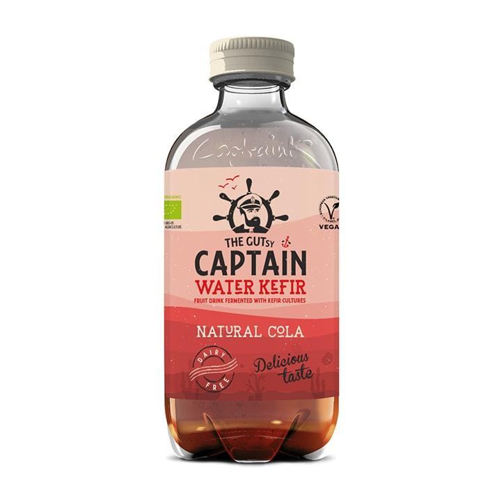 The GUTsy Captain Water Kefir Natural Cola 400ml