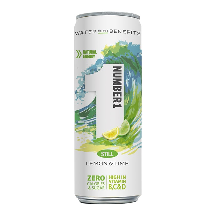 Number1 Vitamin Water Still Lemon & Lime 250ml