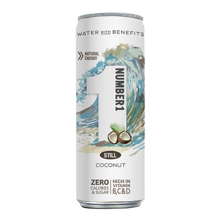 Number1 Vitamin Water Still Coconut 250ml
