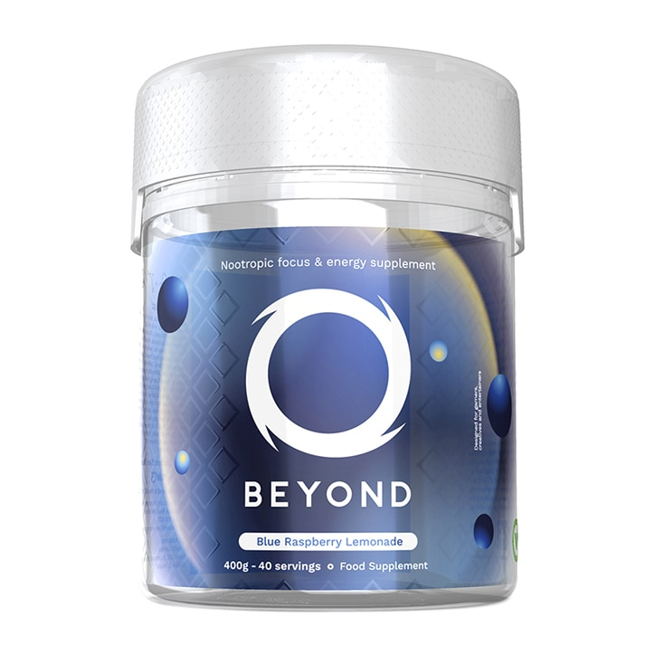 Beyond NRG - Energy & Focus Supplement Blue Raspberry Lemonade 400g