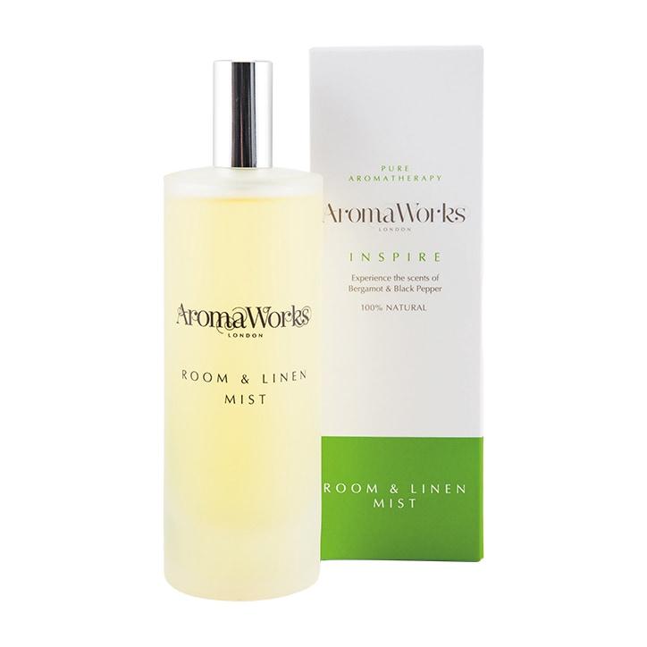 AromaWorks Inspire Room and Linen Mist 100ml