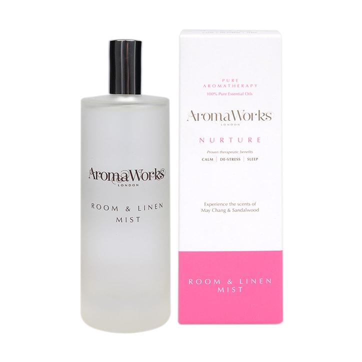 AromaWorks Nurture Room and Linen Mist 100ml