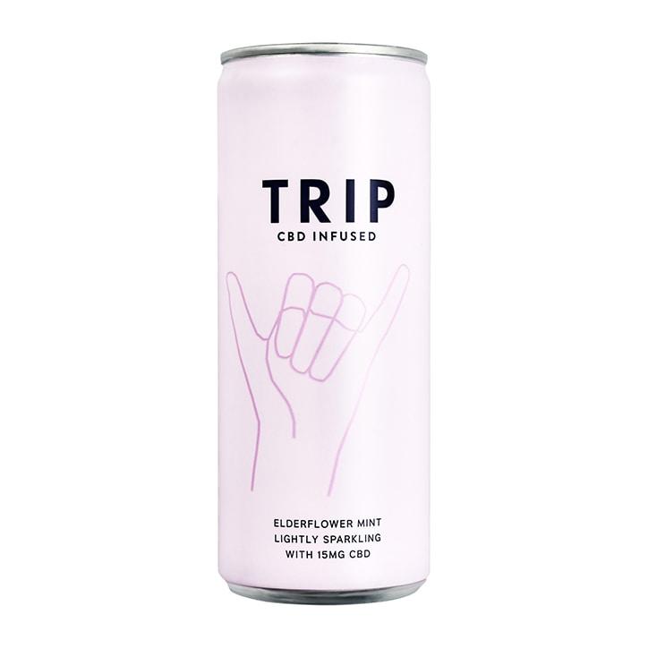 TRIP Elderflower Mint CBD Drink 250ml