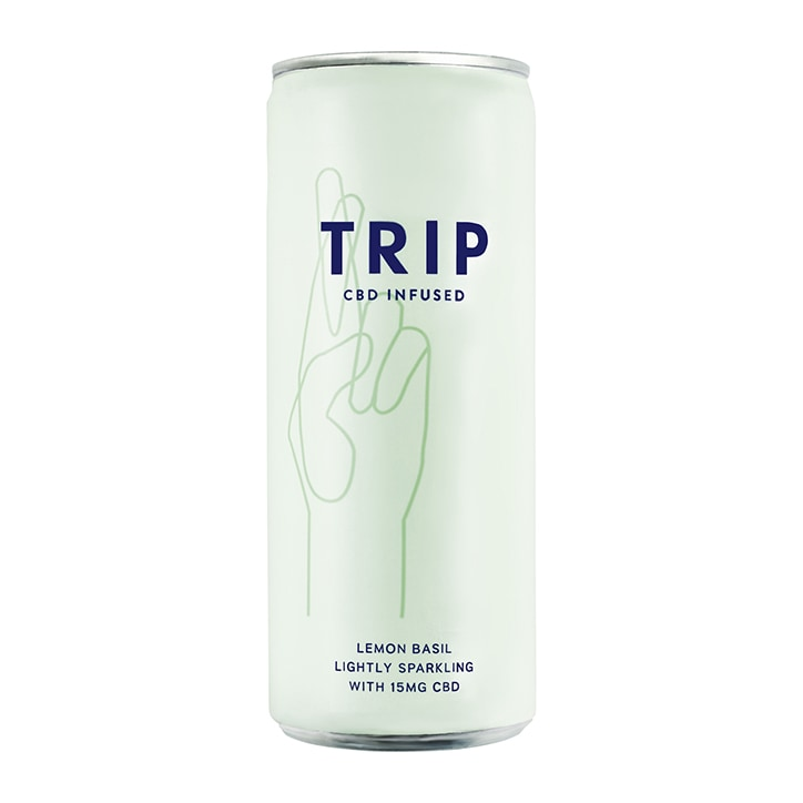 TRIP Lemon Basil CBD Drink 250ml